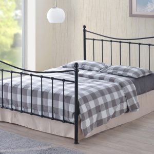 Albania-Black-Metal-Bed-Frame
