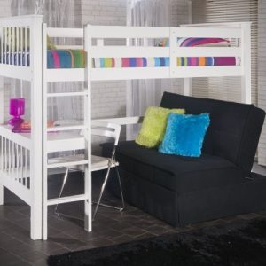 Limelight-Pavo-Wooden-White-Study-Bunk