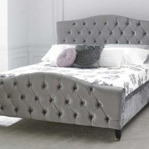 Limelight-Phobos-Plush-Silver-Bed-Frame