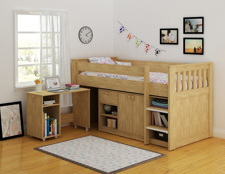 Marilyn Study Bunk Bed - The Bed Depot